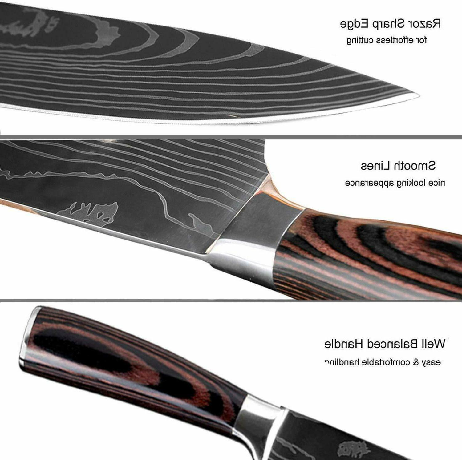 Kitchen Chef's Knife Stainless Sharp
