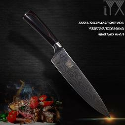 XYj Sharp Blade Stainless Steel Kitchen Knive Double Steel H